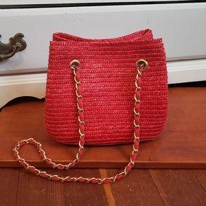 Handbags - Wheat Straw Mini Bag